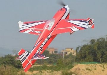 "Skywing 48"" Laser 260 - A in Red, White and Black"